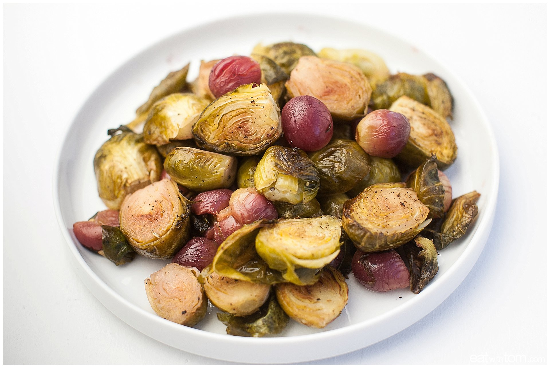 Best Brussels sprouts with grapes recipe oven roasted eat with tom