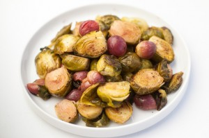 Best brussels sprouts recipe oven roasted with grapes