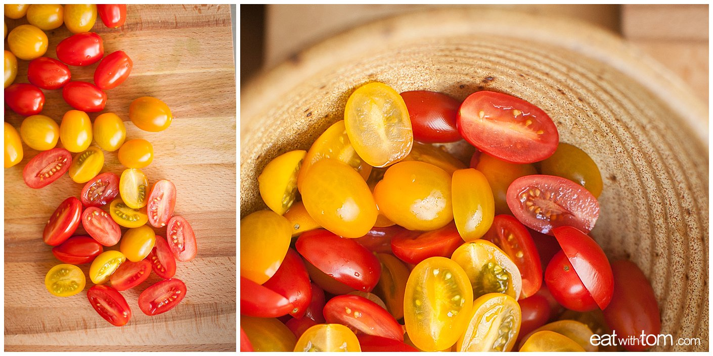 how to cut cherry tomatoes illustrated guide - new whole food culture