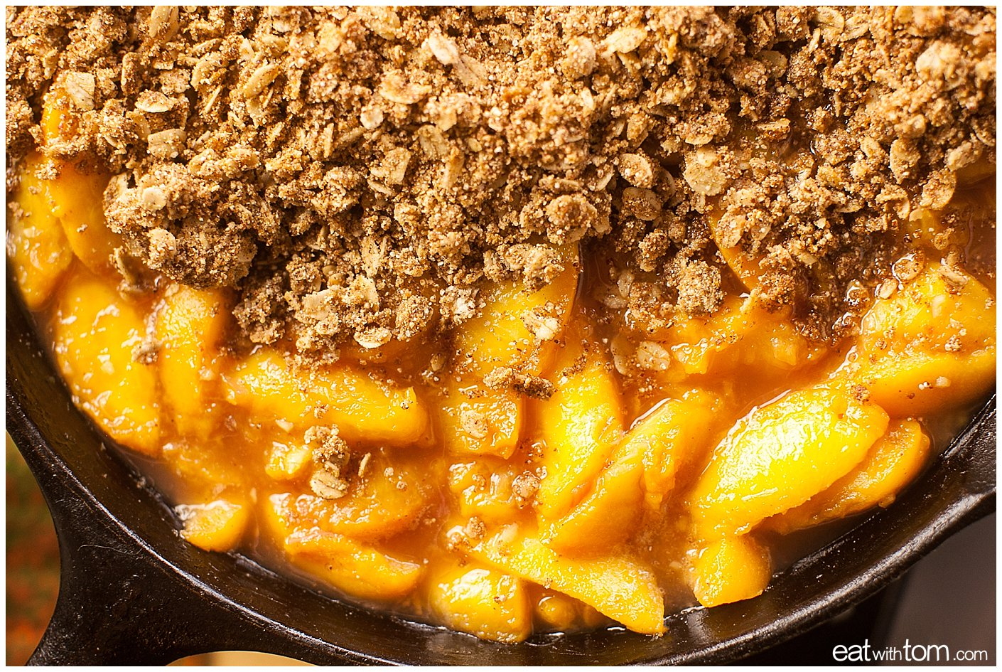 Peach quinoa crumble dessert recipe - Healthy Dessert Recipes Quinoa Peach Crumble
