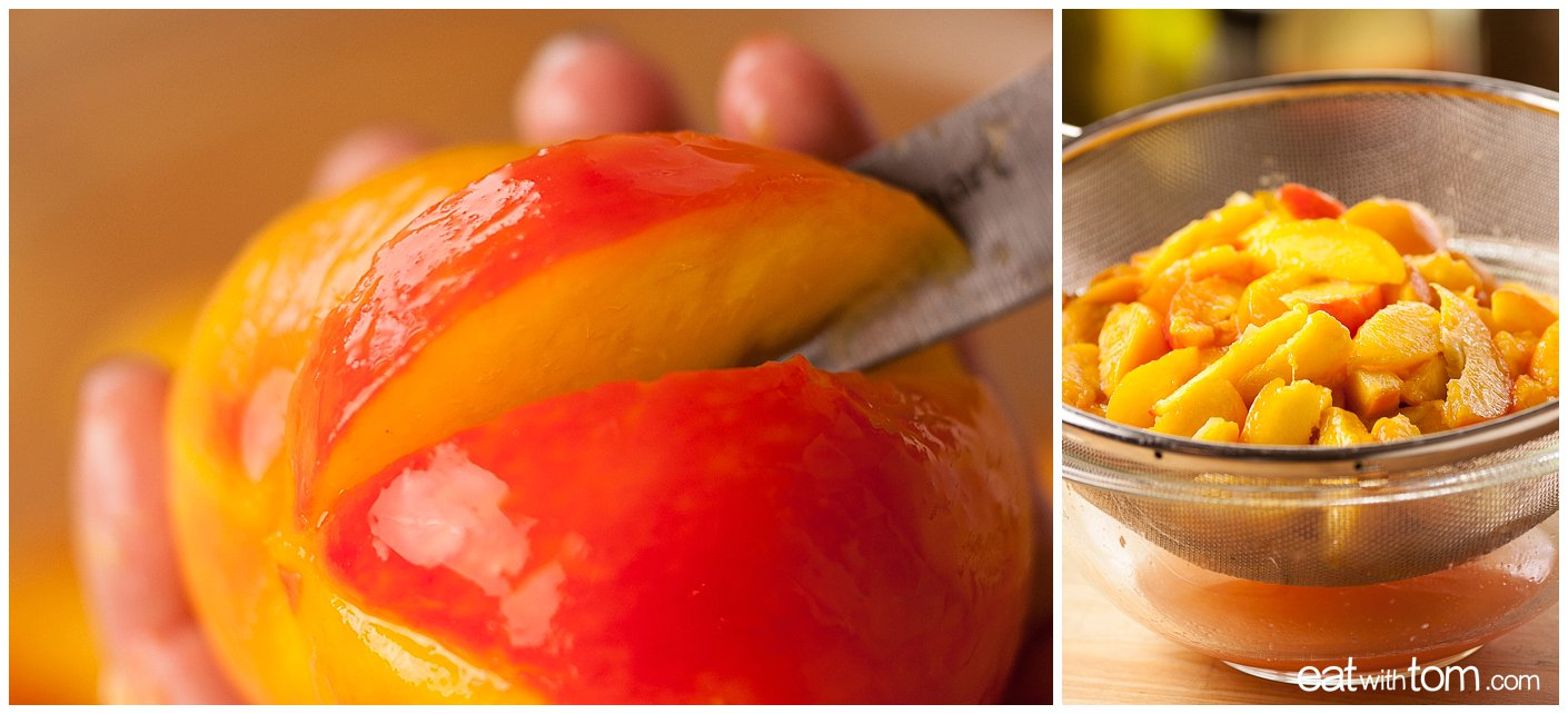peach dessert recipes healthy ideas quinoa almond meal