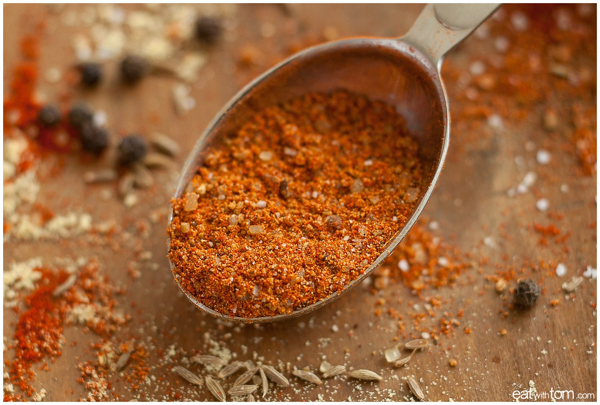 Top rated bbq rub Magic Dust from Peace, Love and Barbeque - Illustrated Recipe by eat with tom