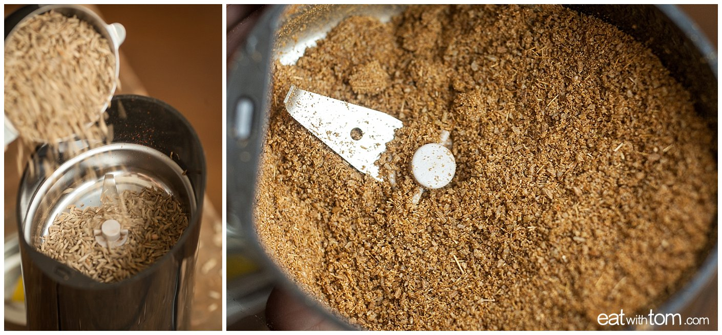 grind cumin seeds for wing dust recipe for chicken wings