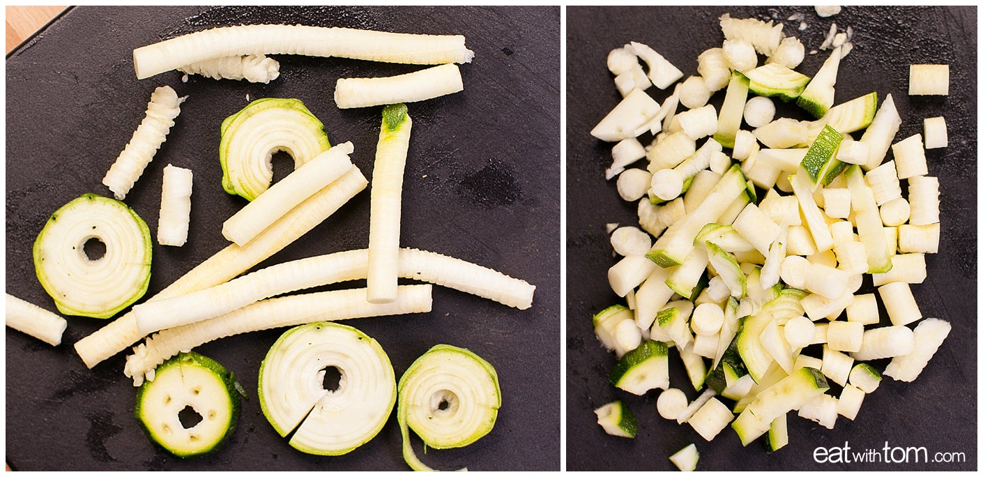 How to make zoodles - eat with tom chicago food blog