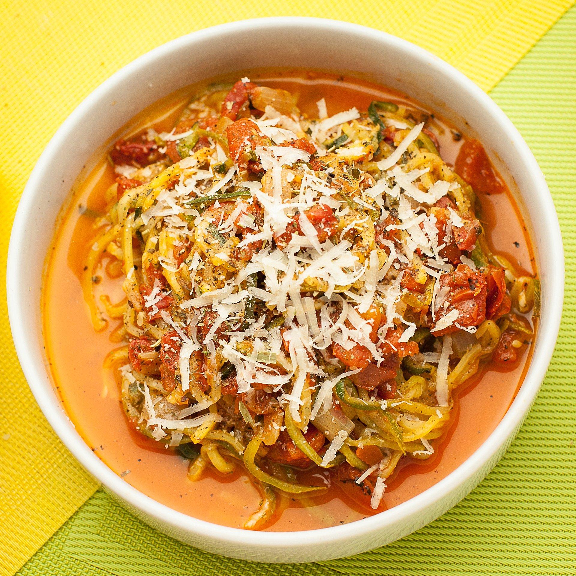 spiralizer spaghetti recipe for spaghetti from scratch