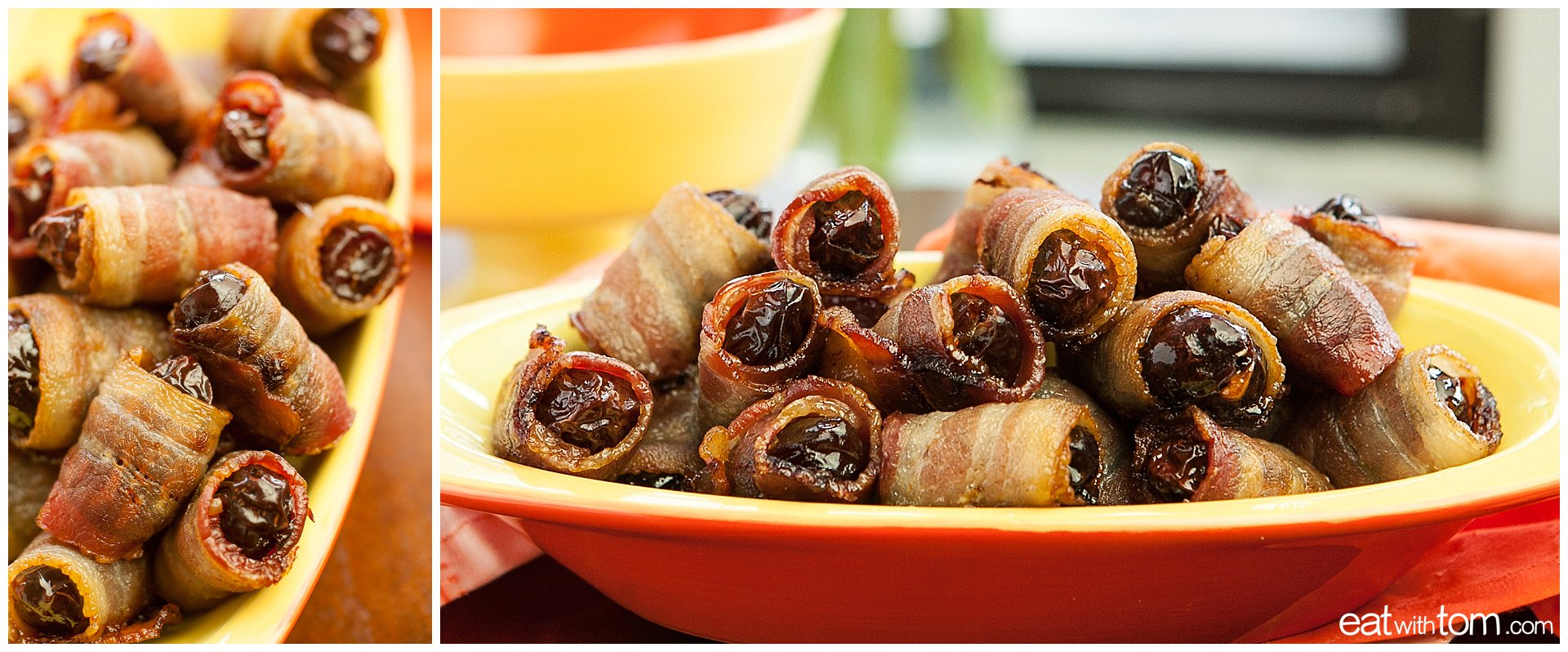 Bacon wrapped dates recipe pictures how to make healthy party food