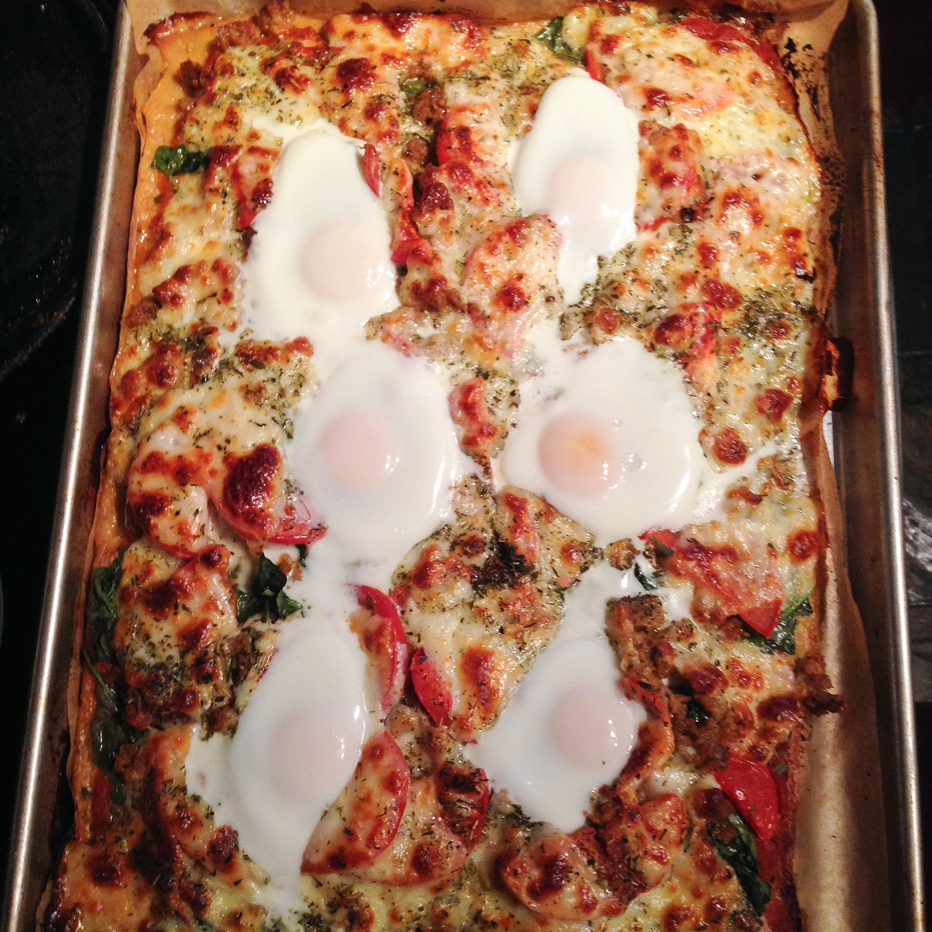 Chickpea-egg-pizza-chicken-sausage-eat-withthom