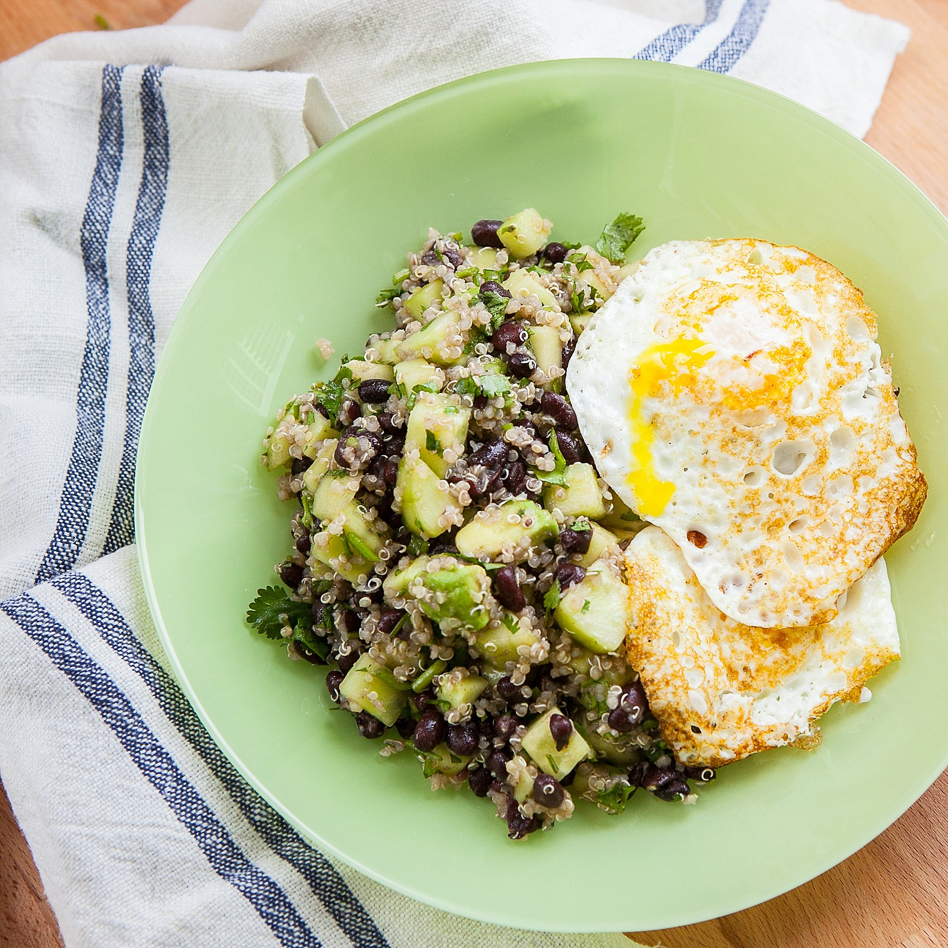 Quinoa Recipe with Avocados and Eggs Eat with Tom
