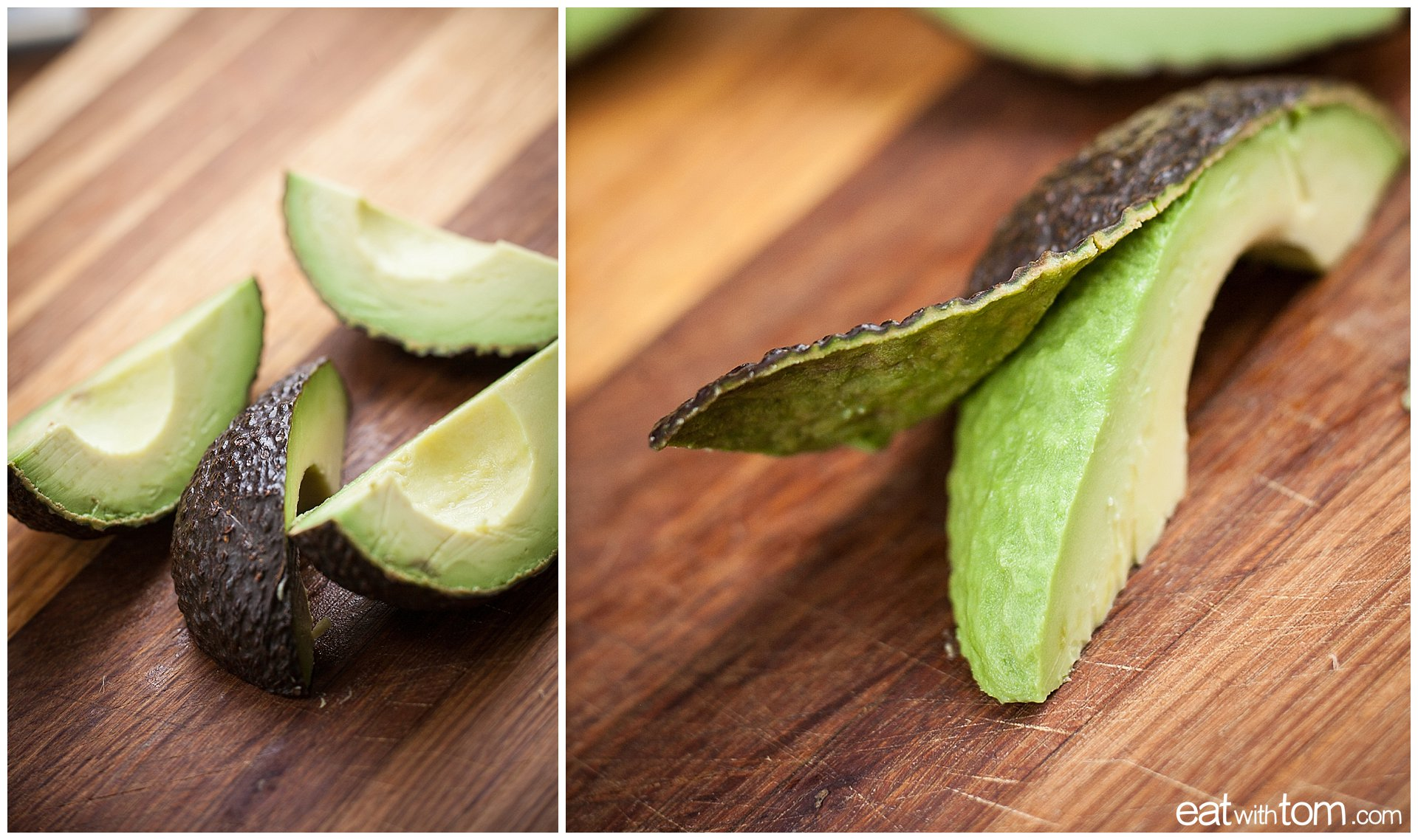 Avocado Black Beans Cilantro - how to peel avocados for breakfast