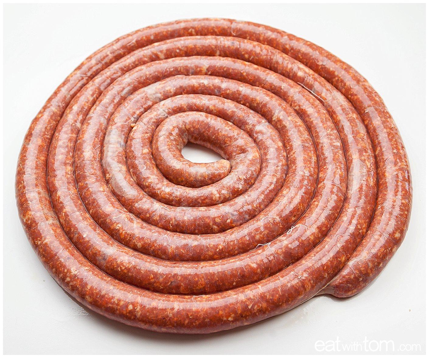 Chorizo sausage Spiral - Pork recipe