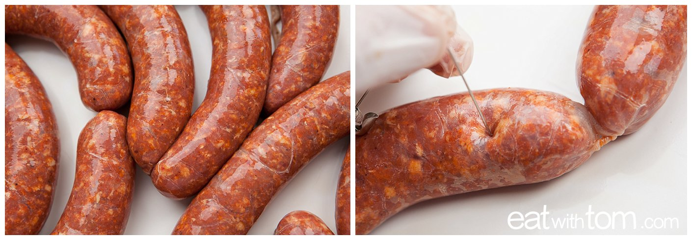 Homemade Sausage Links for the Grill - Chicago Food Blog eat with tom