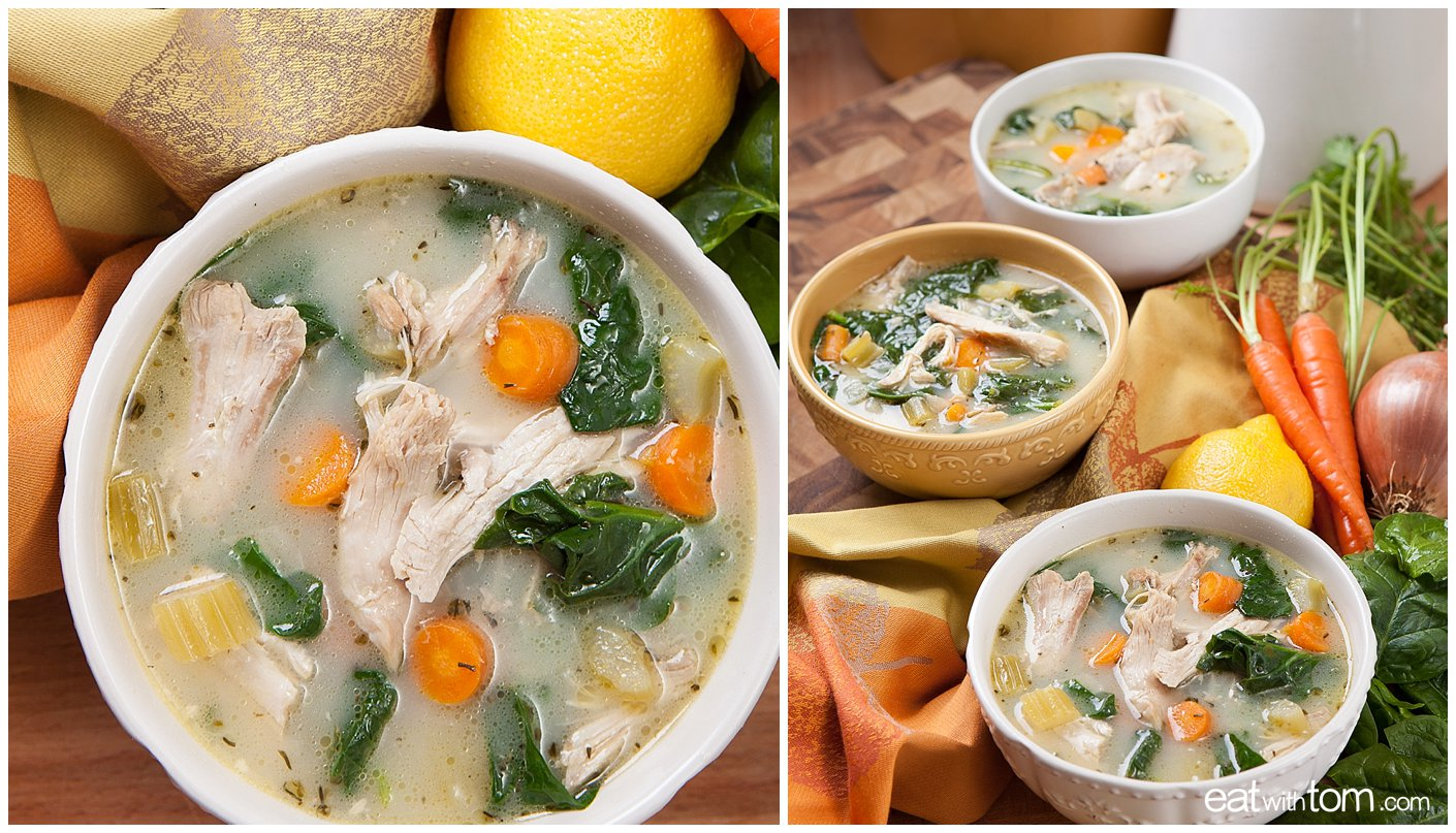 Chicken Soup Recipe - Pressure Cooker • Eat with Tom