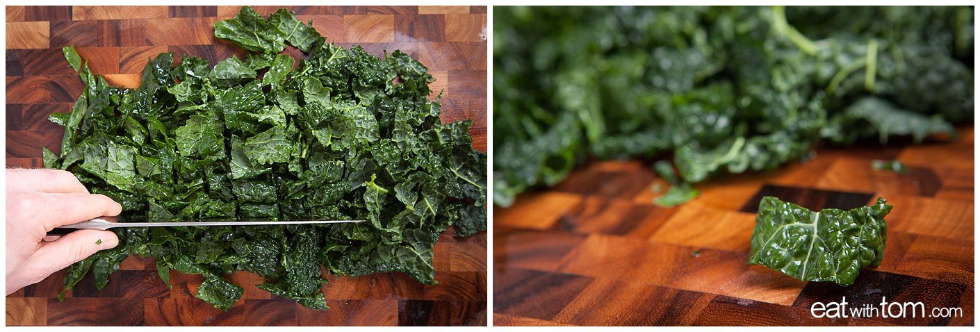Kale Salad Recipe Parmesan Lemon Ceasar true food weil eatwithtom 0664