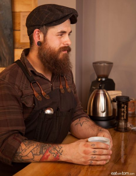 Chicago's best coffee at Everybody's coffee aeropress