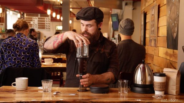 aeropress recipe with josh at everybody's coffee
