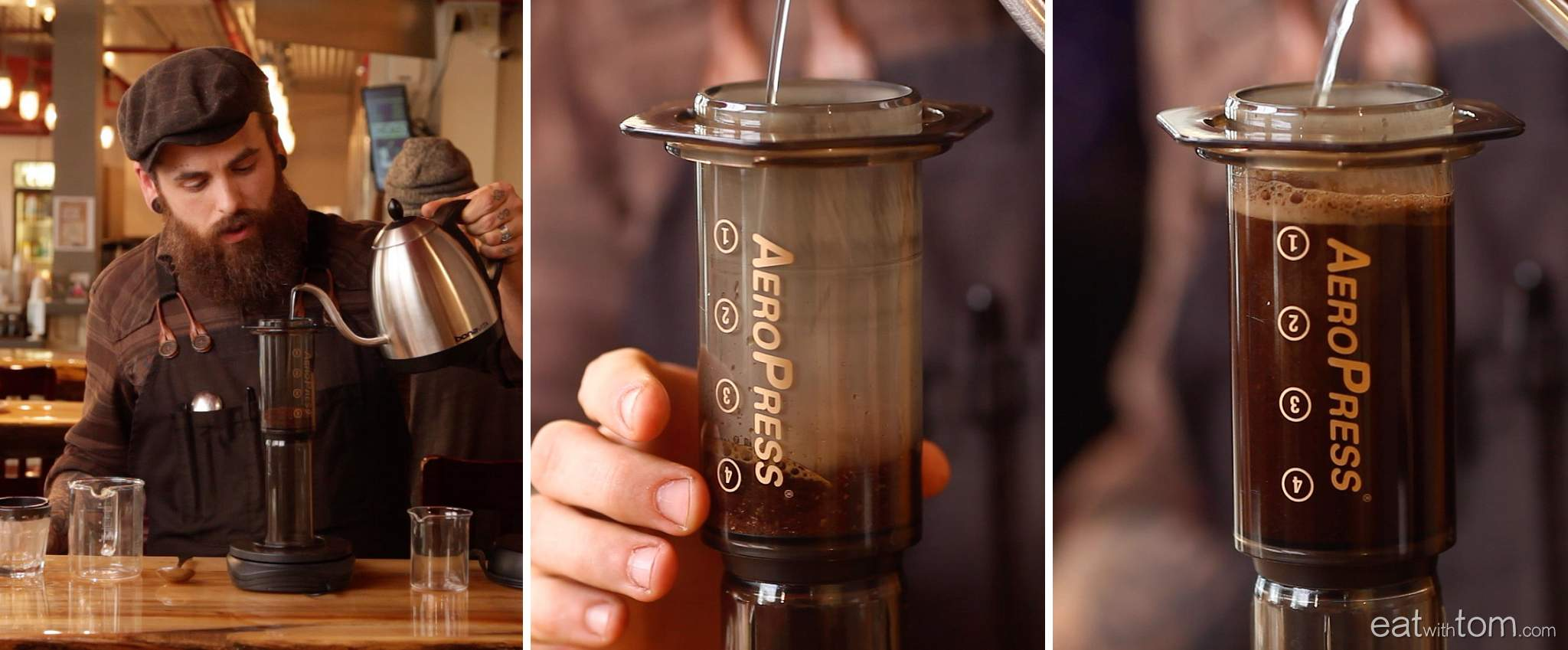 artisian coffee making tips video from everybodys coffee chicago brewing method