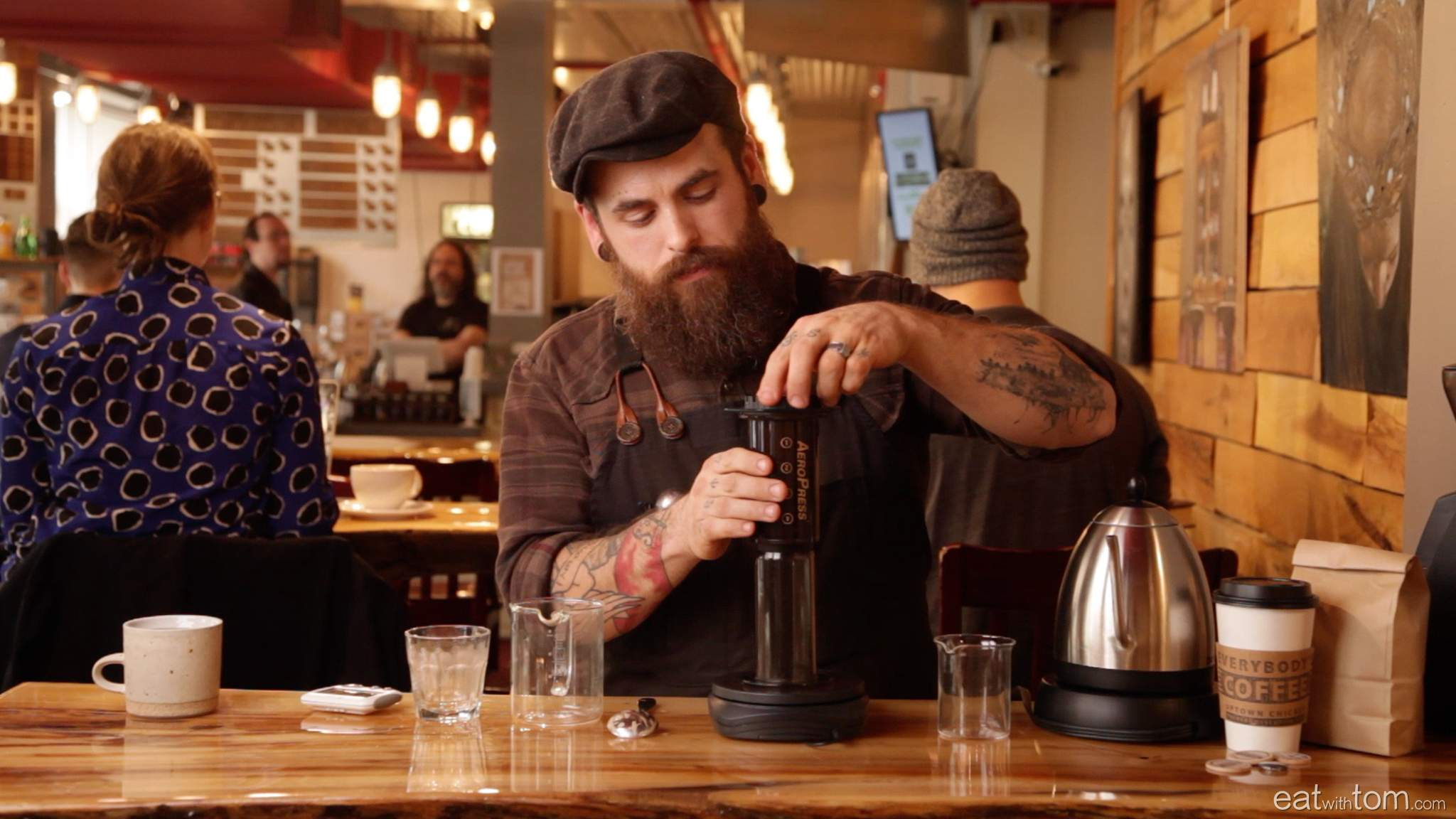 Perfect aeropress inverted method instructions with video eat with tom chicago