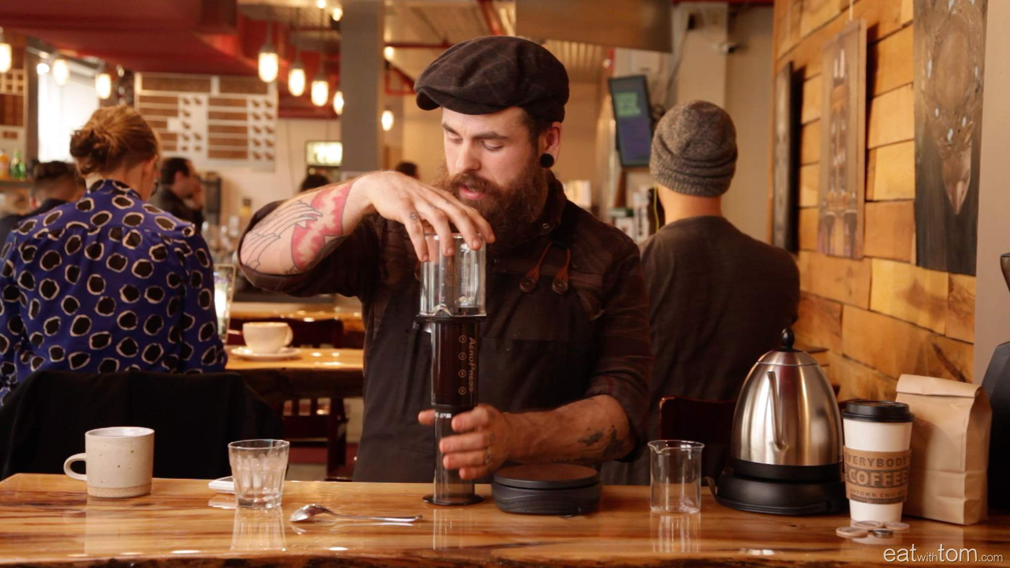 how to make the best coffee with the aeropress method instruction eat with tom chicago