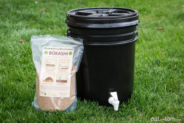 Instructions to make bokashi composter at home with basic items eat with tom