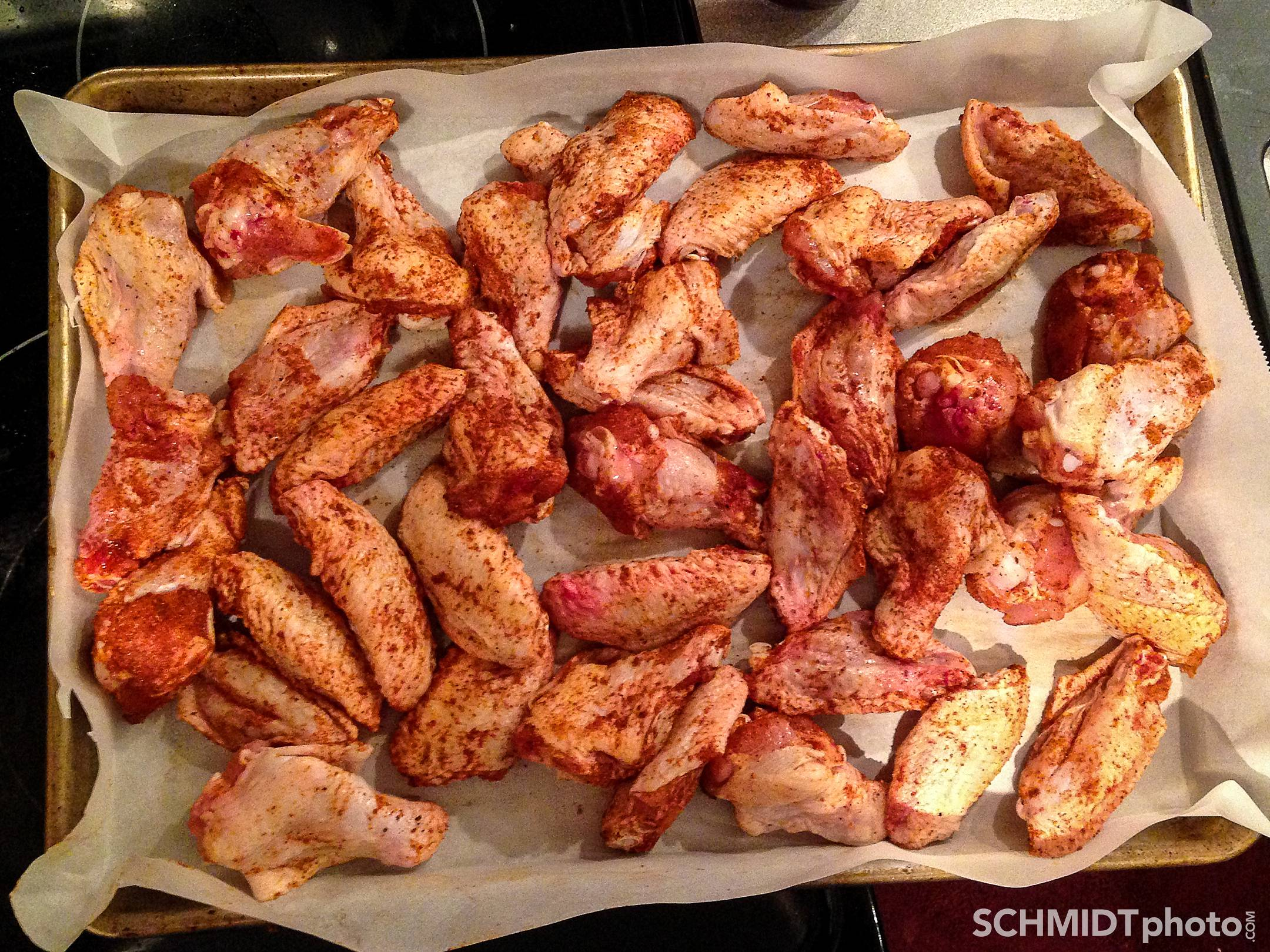 chicken hot wings oven roasted tom schmidt photo